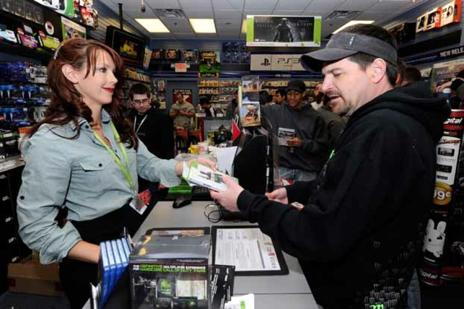 You can sell or trade old controllers and cartidges online or at game retailers Ethan Miller/Getty Images