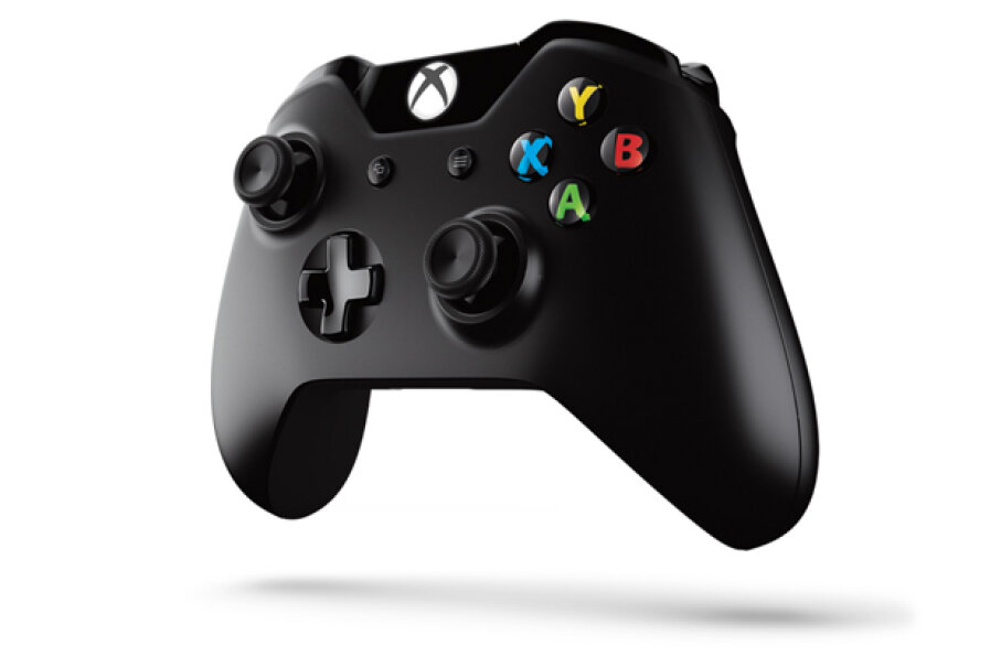 You can buy a Microsoft connector that will link a wireless Xbox controller to a computer's USB. Microsoft