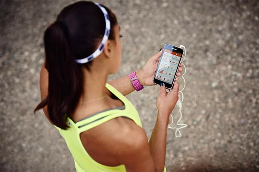 Competing against your friends using wearable technology can spur you go work harder. Nike