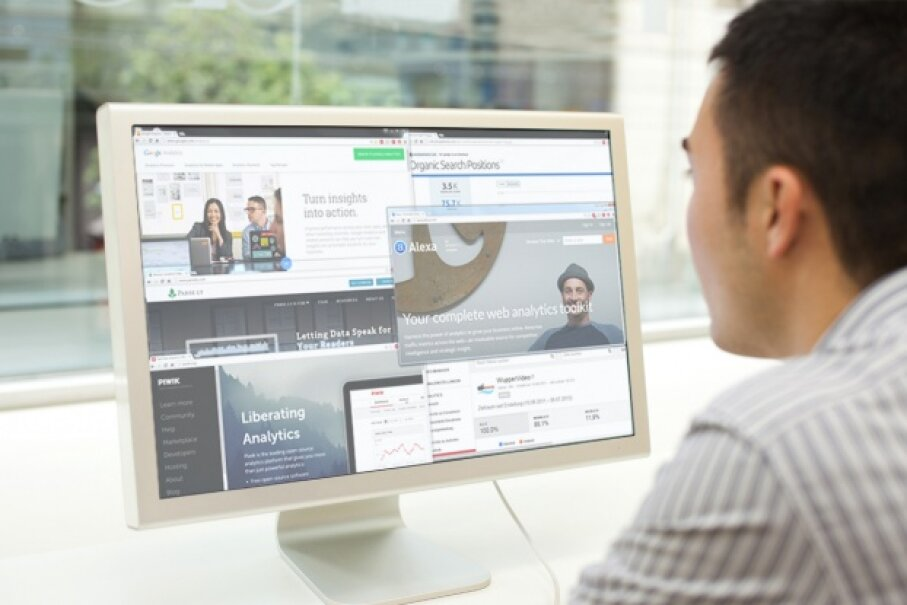 If you're trying to grow your online business, analytics are a great tool to use. Ippei Naoi/Getty Images
