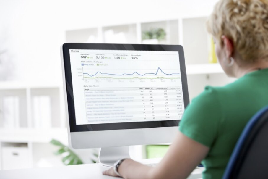 Facebook Insights is convenient because it requires no installation. LuckyBusiness/ThinkStock