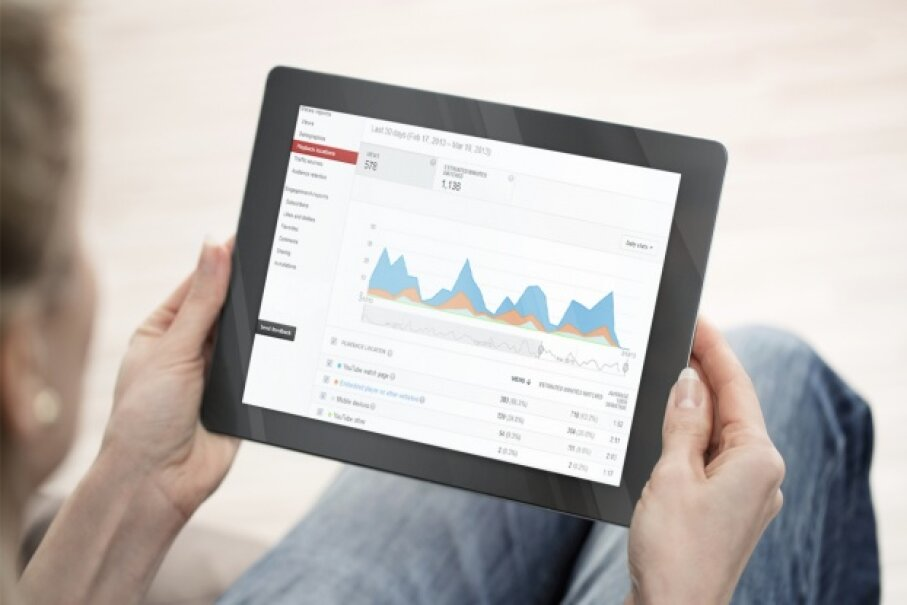Get some in-depth details on your YouTube traffic by using YouTube Analytics. Nastco/ThinkStock
