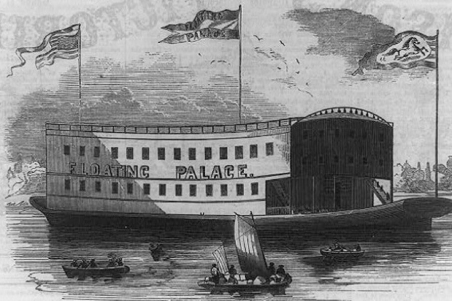 The Floating Circus Palace provided ease of shipment and a permanent location for the show. The Library of Congress