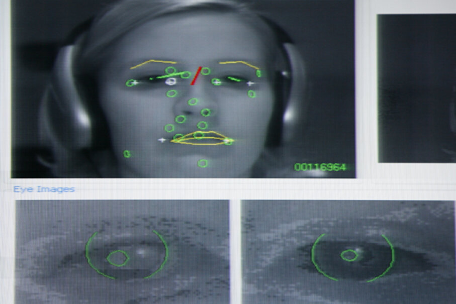 "At the Disney Media and Advertising Lab in Austin, Texas, computers follow the eye and facial movements of participants, providing data on what kinds of Internet ads attract attention. Google was awarded a patent for a ""gaze tracking system"" in 2013. © Erich Schlegel/Corbis"
