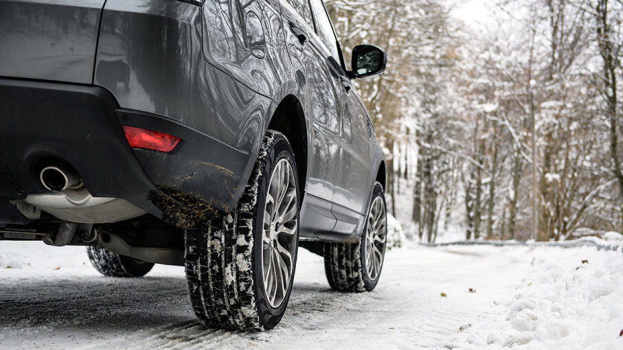 If you live in an area that sees regular snowfall or icy conditions, winter tires will provide the extra traction for daily driving. Massimo Calmonte/Getty Images