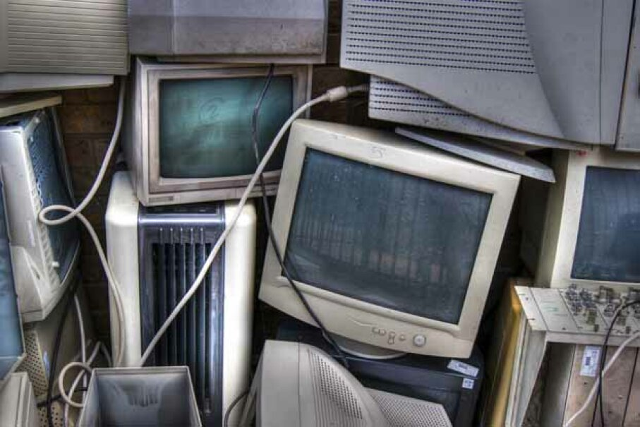 Don't throw out that old computer. It has a lot of materials that are hazardous in a landfill. iStock/Thinkstock