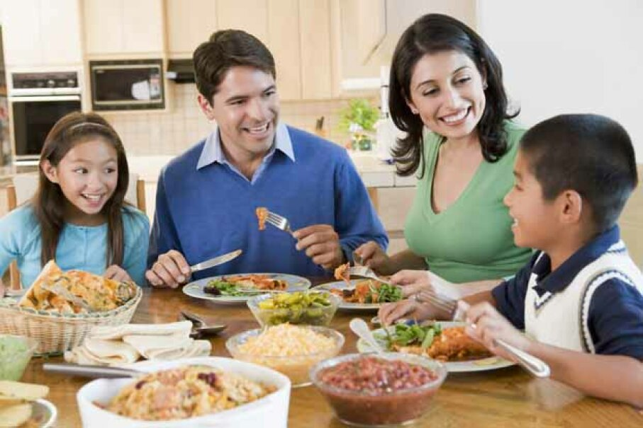 If you have kids, you may want to divide the workday into two shifts, leaving your afternoons free for homework and dinner. iStock/Thinkstock