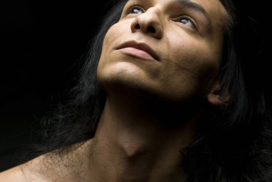 Although it tends to be more noticeable on males, both women and men have an Adam's apple. iStock/Thinkstock