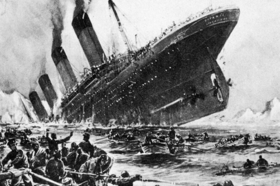Multiple errors in judgment led to the Titanic's tragic end. ©Universal History Archive/Getty Images