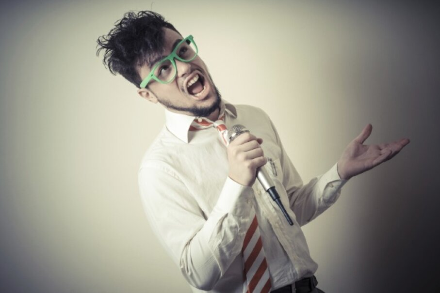 Nobody except your buddies is going to give you business if you goof up a lyric during karaoke. Bit of different story for the recording artists in this article though. iStockphoto/Thinkstock