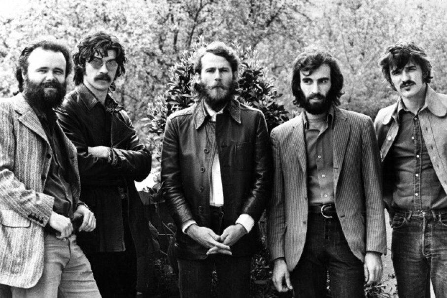 The Band in 1971 © Gijsbert Hanekroot/SUNSHINE ./Retna Ltd./Corbis