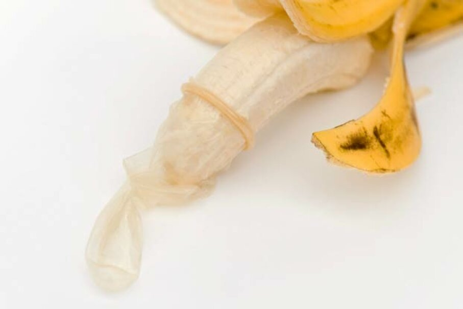 A condom this baggy is a bad sign post-sex. iStockphoto/ThinkStock